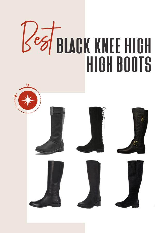 best-black-knee-high-boots