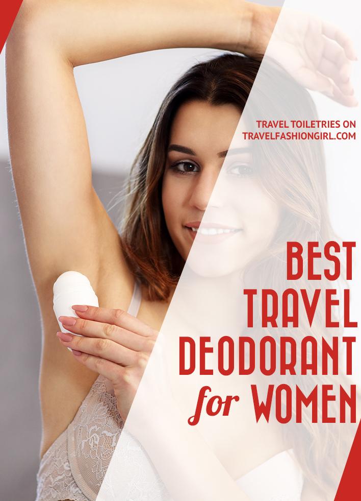 女性最佳旅行除臭剂