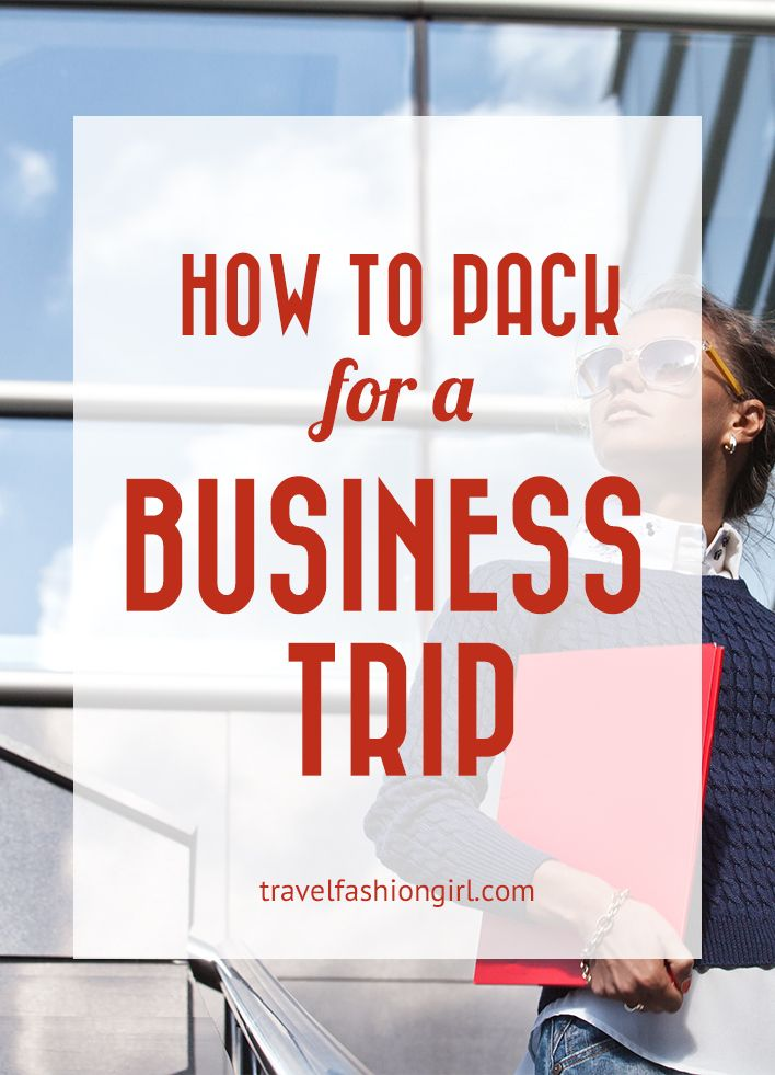 how-to-pack-for-a-business-trip