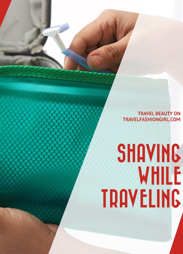 shaving-while-traveling