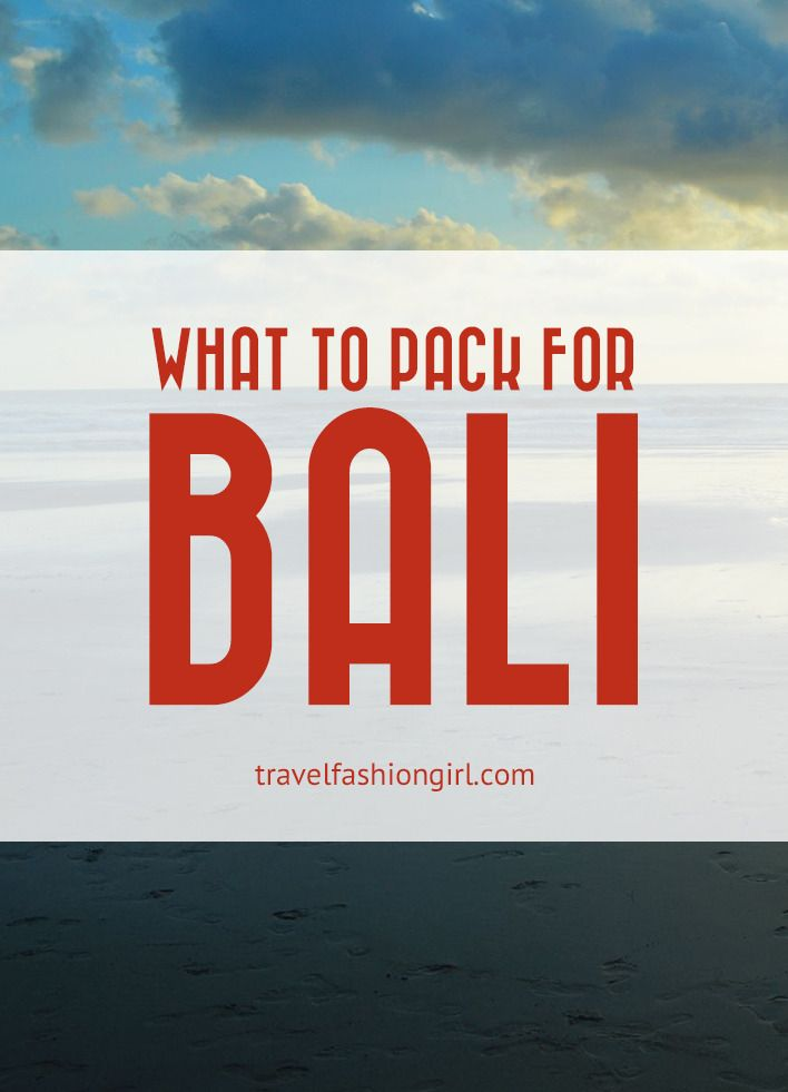 what-to-pack-for-bali