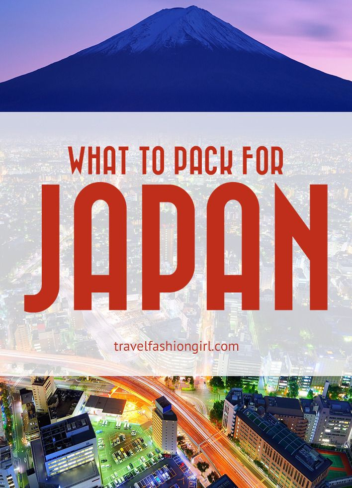 what-to-pack-for-japan