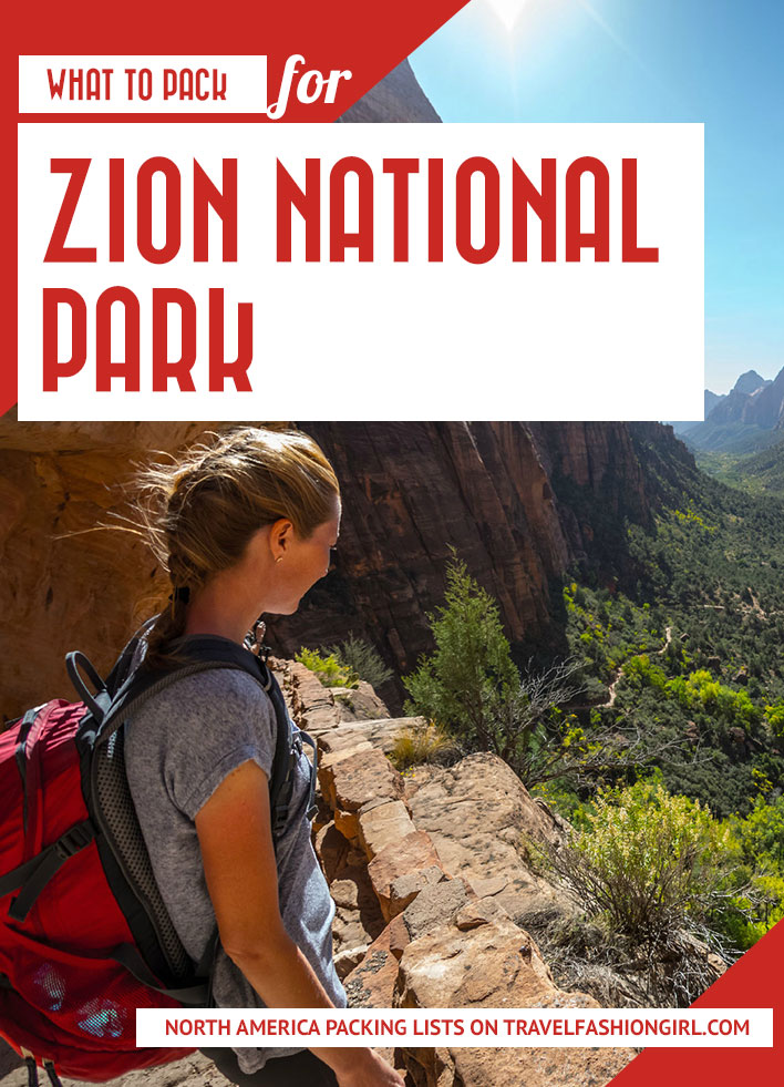 what-to-pack-for-zion-national-park