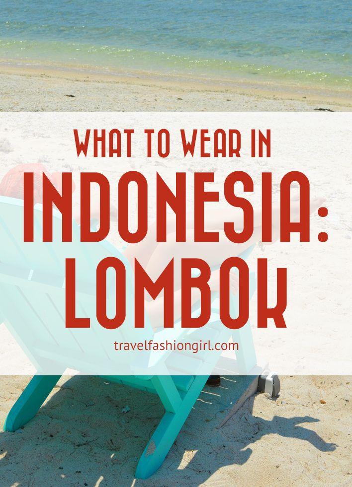 在印度尼西亚龙目岛穿什么